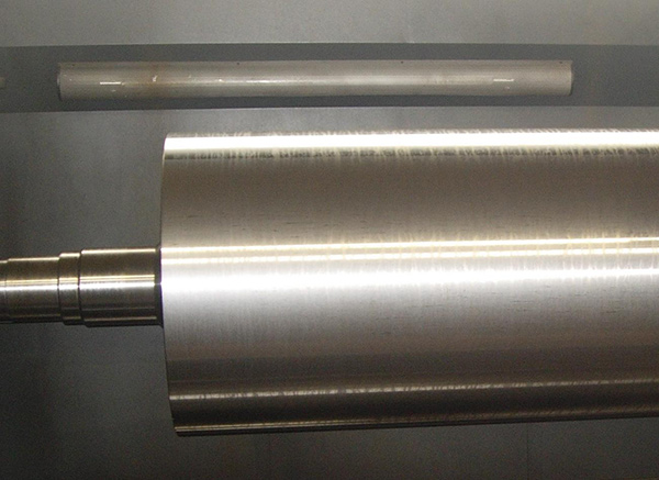 M.S. Polished Roller, MS roller Manufacturer, Material Stainless Steel, MS  rubber roller Exporter